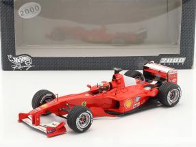 Michael Schumacher Ferrari F1-2000 #3 World Champion Formula 1 2000 1:18 HotWheels