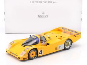 Porsche 962 C #4 24h LeMans 1988 Reuter, Lechner, Hunkeler 1:18 Norev