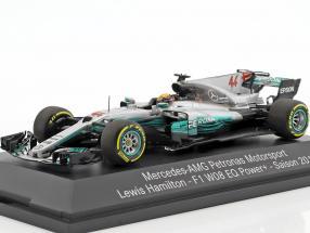 L. Hamilton Mercedes F1 W08 EQ #44 World Champion Formel 1 2017 1:43 Minichamps