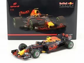 Max Verstappen Red Bull RB13 #33 3rd China GP Formel 1 2017 1:18 Spark