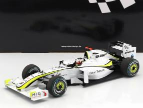 Jenson Button Brawn BGP 001 #22 World Champion formula 1 2009 1:18 Minichamps