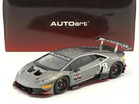 Lamborghini Huracan LP620-2 Super Trofeo #63 year 2016 titanium gray 1:18 AUTOart