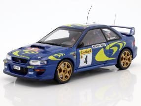 Subaru Impreza S3 WRC #4 Winner Rallye Monte Carlo 1997 Liatti, Pons 1:18 AUTOart