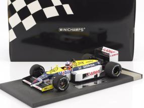 Nigel Mansell Williams Honda FW11 #5 formula 1 1986 1:18 Minichamps