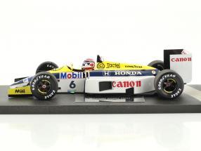 Nelson Piquet Williams Honda FW11 #6 formula 1 1986