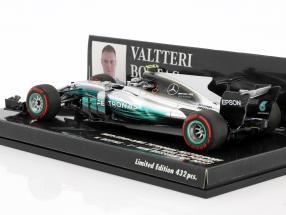 Valtteri Bottas Mercedes F1 W08 EQ Power  #77 1st Win Russian GP Formel 1 2017