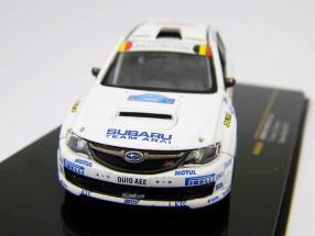 Subaru Impreza STI #6 T. Arai, D. Barret Ypres rally 2010 1:43 Ixo
