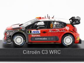 Citroen C3 WRC #8 Tour de Corse 2017 Breen, Martin