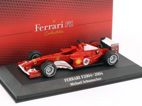 Michael Schumacher Ferrari F2004 #1 World Champion formula 1 2004 1:43 Atlas