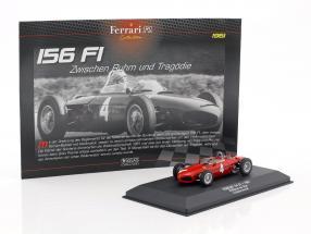 Wolfgang Graf Berghe von Trips Ferrari 156 Sharknose #4 2nd Formel 1 1961