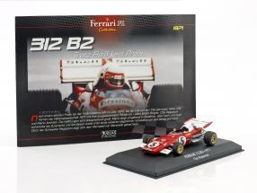 Clay Regazzoni Ferrari 312 B2 #5 Formel 1 1971