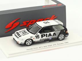 Honda Civic EF3 #15 2nd Grp3 JTC Suzuka 1989 Okada, Sato 1:43 Spark