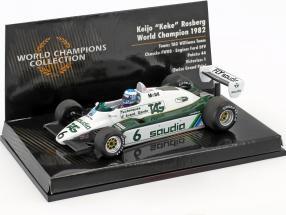 Keke Rosberg Williams FW08 #6 World Champion formula 1 1982 1:43 Minichamps
