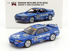 Nissan Skyline GT-R R32 #12 Group A 1990 Calsonic 1:18 AUTOart