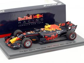 Max Verstappen Red Bull RB13 #33 Sieger Malaysia GP Formel 1 2017 1:43 Spark