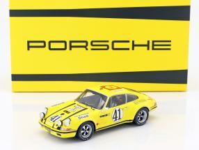 Porsche 911 S/T 2.5 coupe #41 24h LeMans 1972 Toad Hall Racing 1:18 Spark