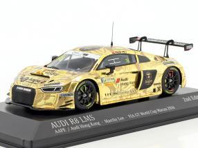 Audi R8 LMS #16 FIA GT World Cup Macau 2016 Lee 1:43 Minichamps