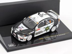 Mitsubishi Lancer Evo X #0 Safety Car Geko Ypres Rallye 2011 1:43 Ixo
