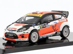 Ford Fiesta RS WRC #8 Winner Monza Rallye Show 2014 Kubica, Benedetti 1:43 Ixo