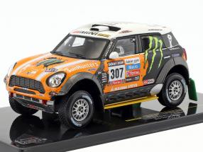 Mini All4 Racing #307 3rd Rallye Dakar 2013 Novitsky, Zhiltsov 1:43 Ixo