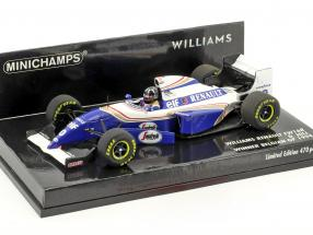 Damon Hill Williams FW16B #0 Winner Belgium GP formula 1 1994 1:43 Minichamps