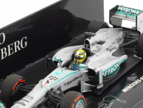 Nico Rosberg Mercedes F1 W04 #9 USA GP formula 1 2013