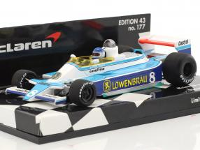 Patrick Tambay McLaren M28 #8 USA West GP Formel 1 1979 1:43 Minichamps