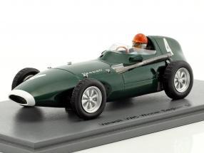 Tony Brooks Vanwall VW5 #4 Winner Belgium GP formula 1 1958 1:43 Spark
