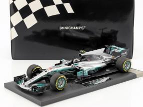 Valtteri Bottas Mercedes F1 W08 EQ Power+ #77 China GP Formel 1 2017 1:18 Minichamps