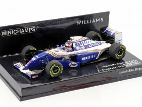 Nigel Mansell Williams FW16 #2 Comeback French GP formula 1 1994 1:43 Minichamps