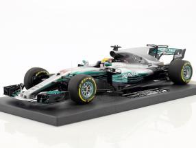 L. Hamilton Mercedes F1 W08 EQ Power  #44 winner Chinese GP World Champion Formel 1 2017 1:18 Minichamps