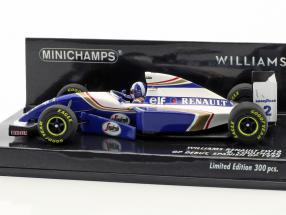 David Coulthard Williams FW16 #2 GP Debut spanish GP formula 1 1994