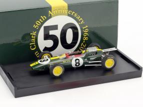 Jim Clark Lotus 25 #8 Winner italian GP World Champion formula 1 1963 1:43 Brumm