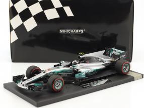 Valtteri Bottas Mercedes F1 W08 EQ Power  #77 1st Win Russian GP  F1 2017 1:18 Minichamps