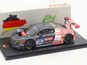 Audi R8 LMS #34 24h Nürburgring 2017 Car Collection Motorsport 1:43 Spark