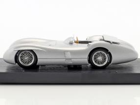 Stirling Moss Mercedes W196C test Monza formula 1 1955
