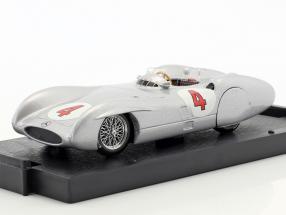 Karl Kling Mercedes W196C #4 test Avus formula 1 1954 1:43 Brumm