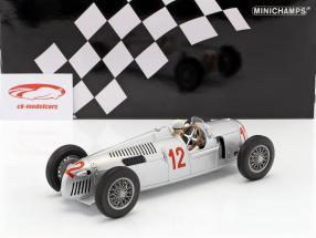 Auto Union Typ C #12 H. Stuck GP Budapest Formel 1 1936 1:18 Minichamps