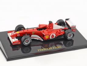 M. Schumacher Ferrari F2002 #1 world champion Formel 1 2002 with showcase 1:43 Altaya