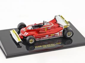 Jody Scheckter Ferrari 312 T4 #11 World Champion formula 1 1979 with showcase 1:43 Altaya