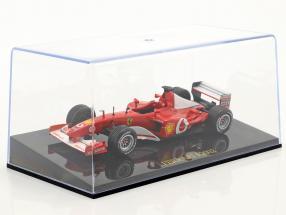 M. Schumacher Ferrari F2002 #1 world champion Formel 1 2002 with showcase