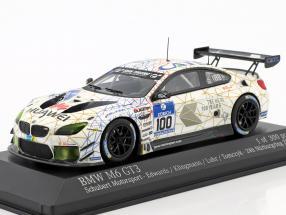 BMW M6 GT3 #100 24h Nürburgring 2016 Edwards, Klingmann, Luhr, Tomczyk 1:43 Minichamps