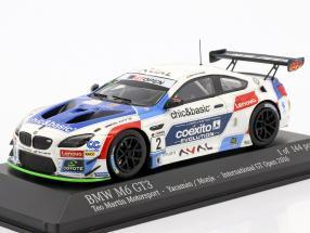 BMW M6 GT3 #2 International GT Open 2016 Yacaman, Monje 1:43 Minichamps