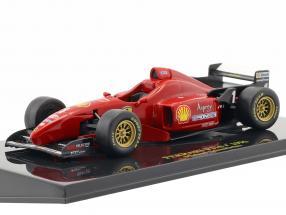 M. Schumacher Ferrari F310 Formel 1 1996 mit Vitrine 1:43 Altaya