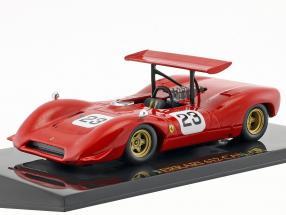 Chris Amon Ferrari 612 #23 CAN AM Series 1968 mit Vitrine 1:43 Altaya