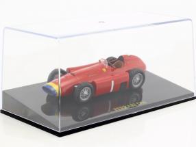 Juan Manuel Fangio Ferrari D50 world champion formula 1 1956 With Showcase