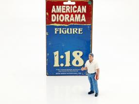mechanic Manager Tim figure 1:18 American Diorama