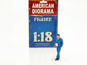 mechanic Larry figure 1:18 American Diorama