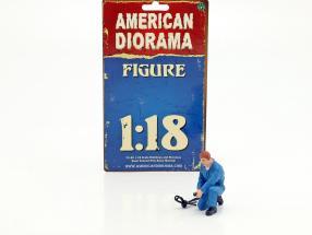 mechanic Tony figure 1:18 American Diorama