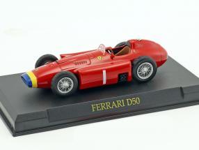 Juan Manuel Fangio Ferrari D50 Weltmeister Formel 1 1956 1:43 Altaya
